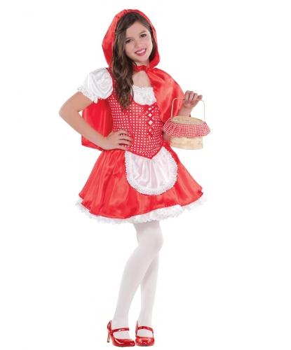 Детский костюм Красной Шапочки: платье, накидка с капюшоном  (Германия)