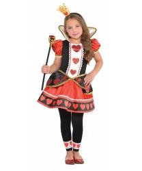 Костюм маленькой королевы червей - Все детские костюмы, арт: 8929