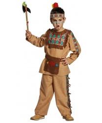 Детский костюм  Индеец  - Все детские костюмы, арт: 8930