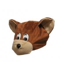 """Детская шапка """"Медведь Миша"""""""