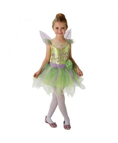 0f87d3f6d6a7bf Детский костюм феи Динь-Динь: платье (Германия)