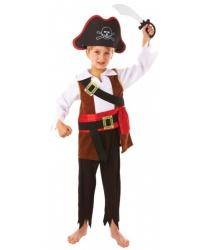 Детский пиратский костюм с мечом