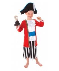 Детский пиратский костюм с крюком