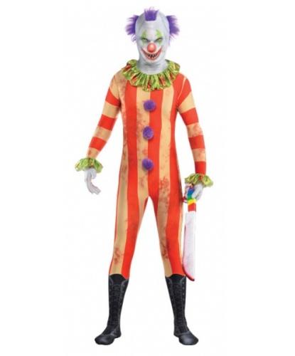 Костюм клоуна убийцы: комбинезон с маской (Великобритания)
