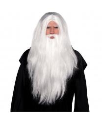 Парик и борода волшебника - Усы, бороды, брови, арт: 8989