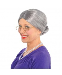 Седой парик бабушки