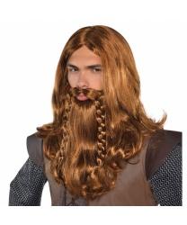 Парик и борода викинга - Парики, арт: 8991