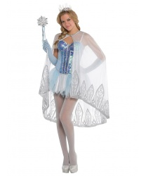 Накидка Ледяной принцессы - Все женские костюмы, арт: 8994