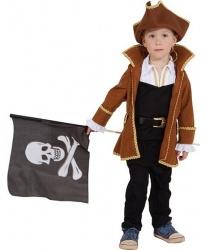 Детский пиратский камзол и шляпа
