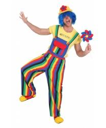 Взрослый клоунский комбинезон