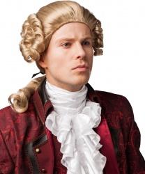 Мужской исторический парик (блонд) - Парики, арт: 9025