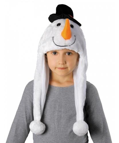 Детская шапка снеговика (Польша)