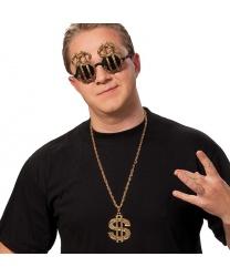Подвеска  Золотой доллар