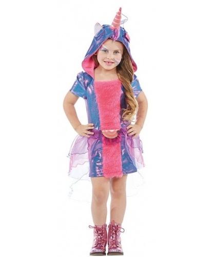 Платье единорога для девочки: платье с капюшоном (Германия)