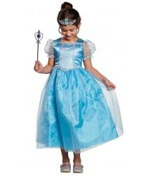 Голубое платье принцессы