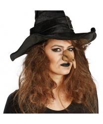 Нос ведьмы на резинке
