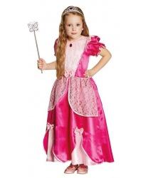 Детское розовое платье принцессы
