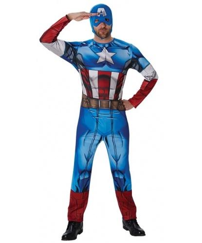 Костюм Капитана Америки: комбинезон, маска (Германия)