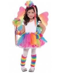 Детская радужная юбка