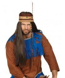 Парик индейца - Парики, арт: 9145