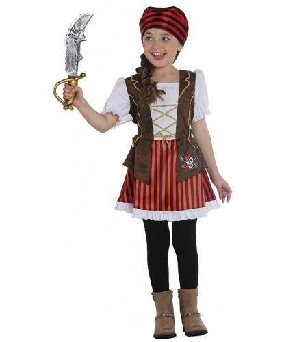Детское платье разбойницы: платье (Германия)
