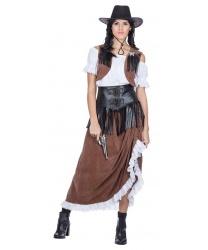 Женский костюм в стиле вестерн - Все женские костюмы, арт: 9150