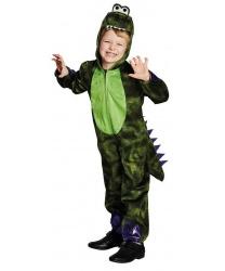 Детский костюм Дракон: комбинезон с капюшоном (Германия)