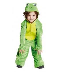 Детский костюм Лягушка: комбинезон с капюшоном (Германия)