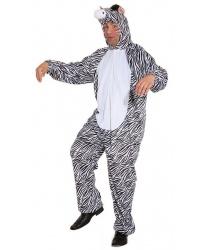 Взрослый костюм зебры