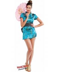 Китайское платье-ципао - Все женские костюмы, арт: 9199