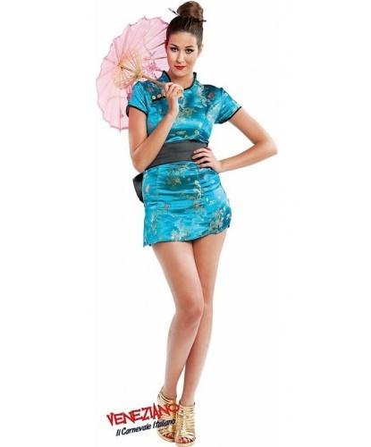 Китайское платье-ципао: платье, пояс (Италия)