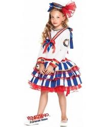 Морской костюм для девочки