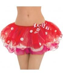 Короткая юбка-пачка в горошек - Все женские костюмы, арт: 9207