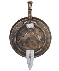 Спартанский щит и меч - Оружие, арт: 9213