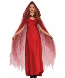 Красный плащ с капюшоном - Все женские костюмы, арт: 9215