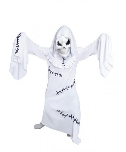 Детский костюм Ужасный призрак: балахон, маска, капюшон (Германия)