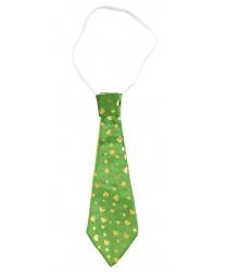 Зеленый галстук на день Святого Патрика