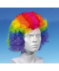 Разноцветный парик