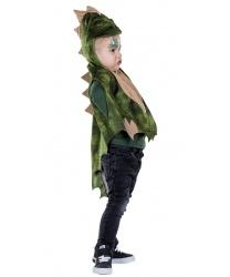 Детская накидка дракончика с капюшоном