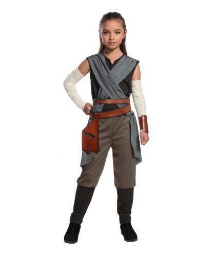 Детский костюм Рей из Звездных войн: комбинезон, нарукавники, пояс (Германия)