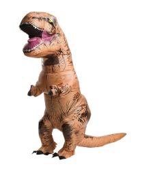 Надувной костюм динозавра T-REX