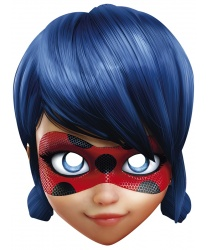 Бумажная маска Леди Баг