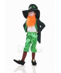 Детский костюм лепрекона с бородой