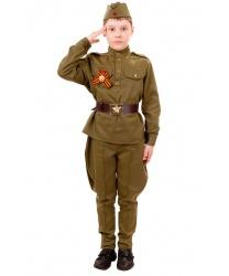 Костюм солдата с Георгиевской ленточкой