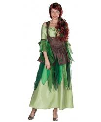 Платье лесной нимфы - Все женские костюмы, арт: 9330