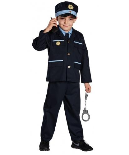 Детская униформа полицейского: пиджак, брюки, кепка (Германия)