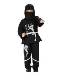 """Детский костюм """"Черный ниндзя"""""""