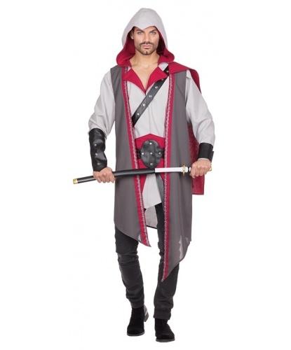 Взрослый костюм Воин: балахон, пояс, нарукавники (Германия)