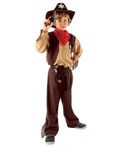 Костюм Ковбой (без шляпы): брюки, платок, рубашка с вшитой жилеткой (Польша)