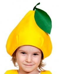Шапочка желтой груши